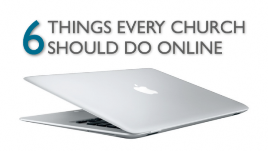 six things every church should do online